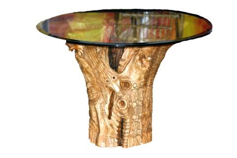 Tavolo in Radica di Olivo